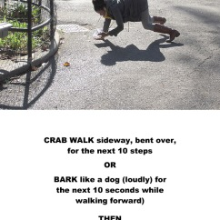 crab-walk