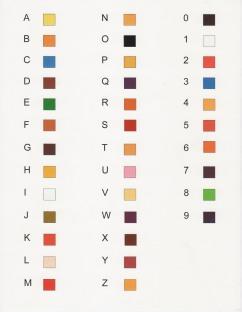Lauren-color key